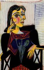 portrait cubiste 1 PICASSO