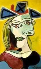portrait cubiste 2 PICASSO